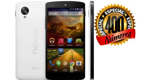 Nexus 5 Computer Hoy sorteo número 400