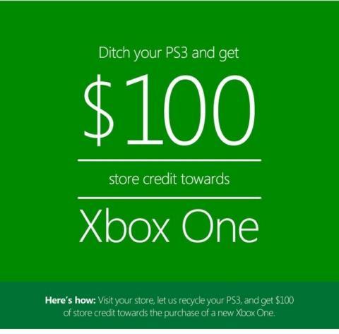 Microsoft paga 100 dólares por tu PS3