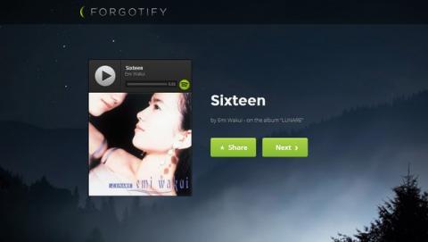 Forgotify, las canciones olvidadas de Spotify