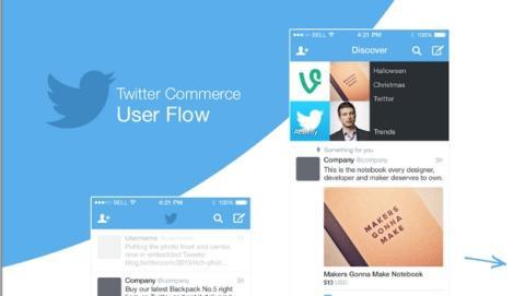 Twitter te permitirá comprar y pagar productos desde un tuit, con Twitter Commerce