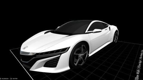 Honda ofrece los modelos de coches 3D para imprimir con una impresora 3D
