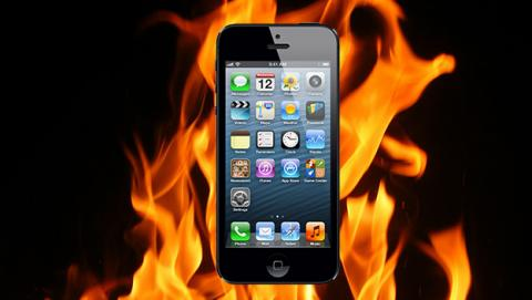 iphone se incendia