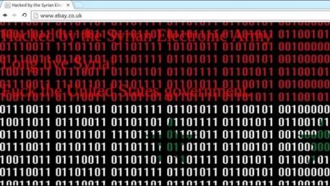 El grupo de hackers  Ejército Electrónico Sirio hackea PayPal y eBay. No se ha accedido a datos de usuarios.