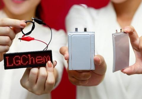 Baterías flexibles