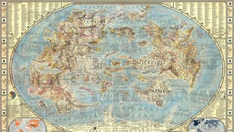 El mapa de Internet más interesante y cuidado hasta la fecha