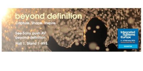 Sony innovación audiovisual ISE 2014