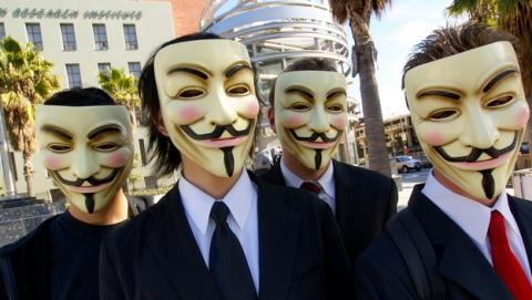 Espías británicos realizaron ataques hacker contra Anonymous y LulzSec