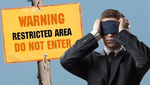 Lugares prohibidos de Google Earth