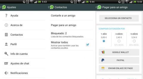 Pagar amigo Whatsapp