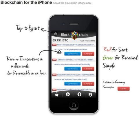 Blockchain, monedero de Bitcoin borrado App Store
