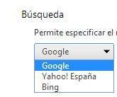 Lista de búsqueda
