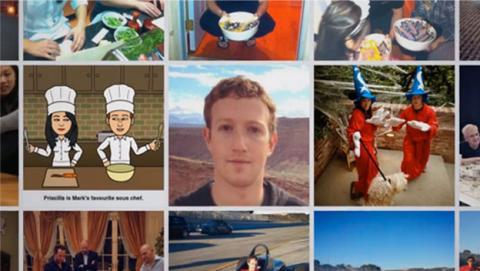 Zuckerberg vídeo mirada atrás