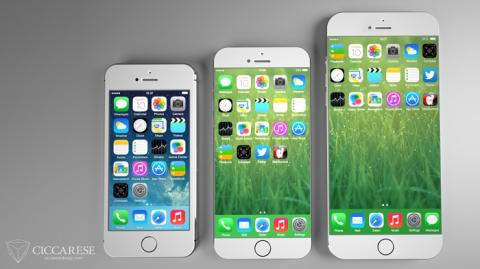 Diseño concepto iPhone 6 Apple Ciccarese