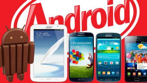 Samsung llevará Android KitKat a gran parte de sus Galaxy