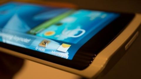 Samsung incluiría pantalla curvada en Galaxy Note 4