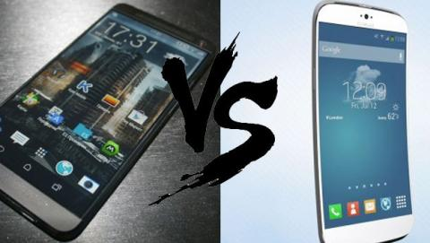 Samsung Galaxy S5 vs HTC One 2