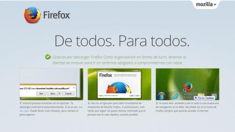 Firefox incluirá publicidad en las pestañas vacías