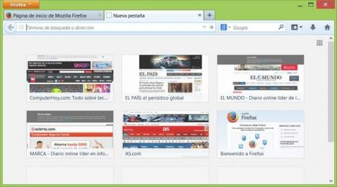 Mozilla Firefox usará publicidad en las pestañas