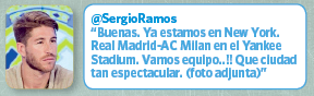 Twitter Sergio Ramos