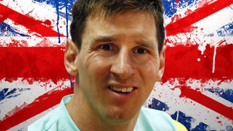 Messi la lía en Facebook con su Party Hard