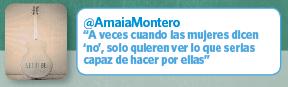Twitter Amaia Montero