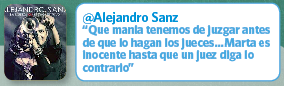 Twitter Alejandro Sanz