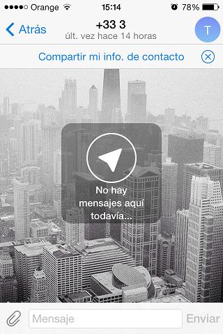 Telegram se actualiza en iOS y ya está disponible en español