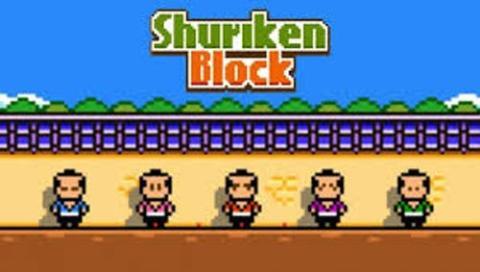 Shuriken Block, nuevo juego del creador de Flappy Bird