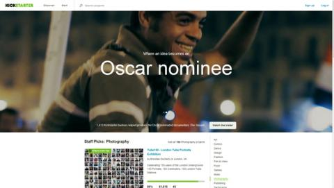 Kickstarter, la web de crowdfunding, hackeada