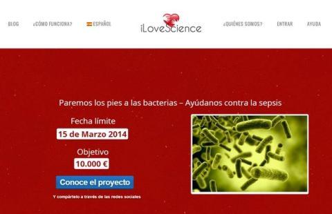 iLoveScience, crowdfunding español para apoya a la Ciencia