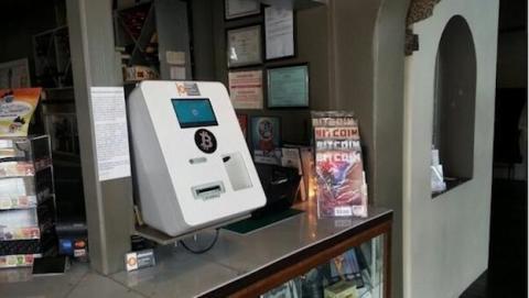 Llega la primera dispensadora de Bitcoins