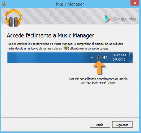 Icono Google Play Music Manager
