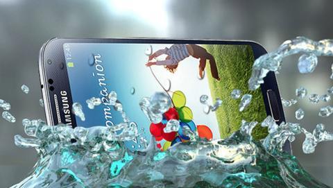 Samsung Galaxy S5 podría ser resistente al agua y polvo