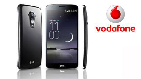 Precios y tarifas del LG G Flex con Vodafone