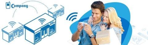 Wi-Fi gratis en los quioscos de Barcelona