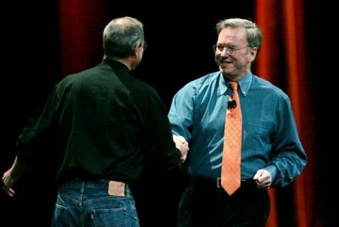 Steve Jobs Eric Schmidt pactos secretos salarios