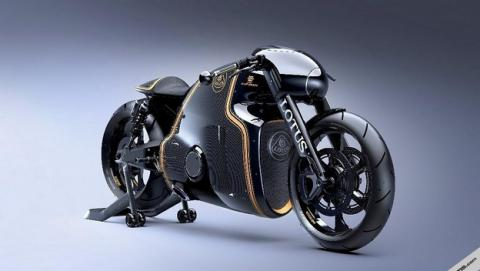Lotus C-01, la moto inspirada en la película Tron