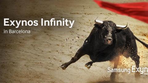 Cartel Samsung Exynos Infinity MWC 2014