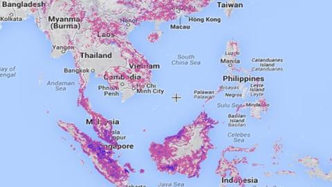 La deforestacion mundial segun Google
