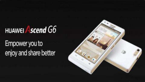 Huawei hace oficial el Ascend G6 en el Mobile World Congress