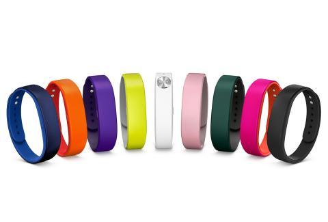 Pulsera de fitness Sony SmartBand, presentada en el Mobile World Congress de Barcelona
