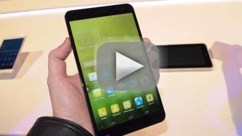 Así es el MediaPad X1 en vídeo, la nueva tablet de Huawei