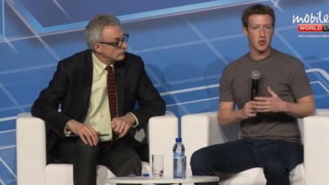 Marck Zuckerberg interviene en el MWC 2014