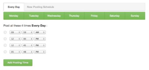 Calendario Buffer