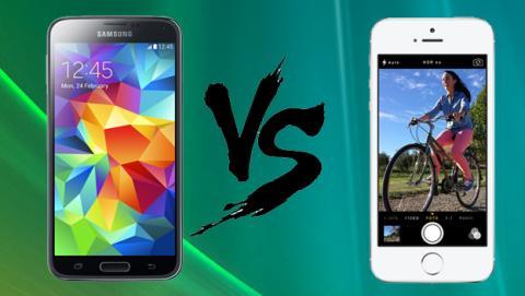Comparativa Samsung Galaxy S5 vs iPhone 5S ¿cuál es mejor?