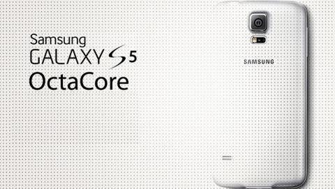 Samsung revela nueva versión del Galaxy S5 con CPU OctaCore