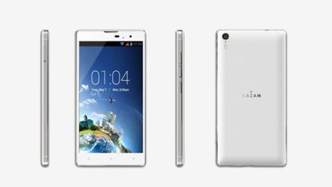 Smartphones KAZAM con procesador de 8 núcleos en MWC14