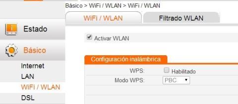 Desactiva WPS