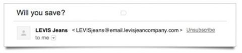 Gmail introduce botón de unsubscribe
