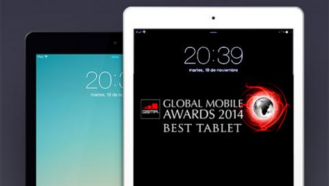 iPad Air elegida mejor tablet en los Global Mobile Awards